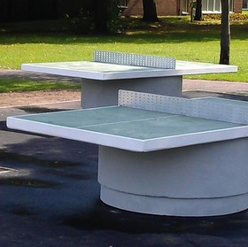 Round Base Table Tennis Table