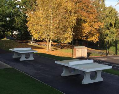Outdoor table tennis