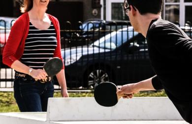Concrete Table Tennis