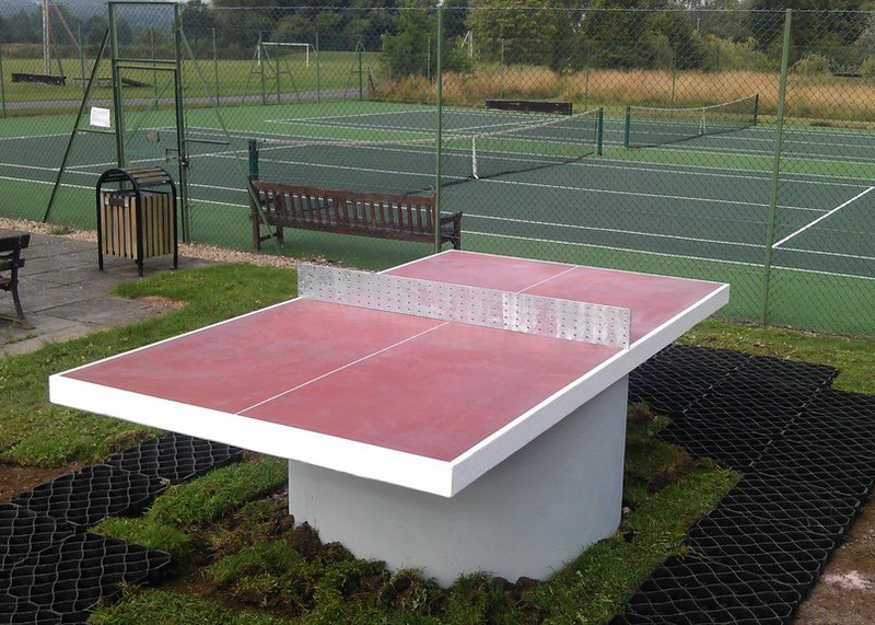 Pictures Of Concrete Table Tennis Tables