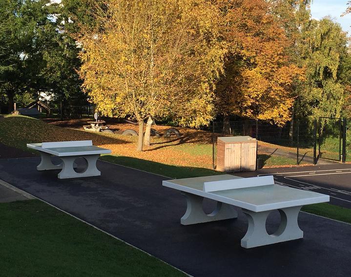 Concrete Table Tennis For Schoools