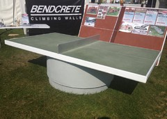 outdoor table tennis table at SAltex